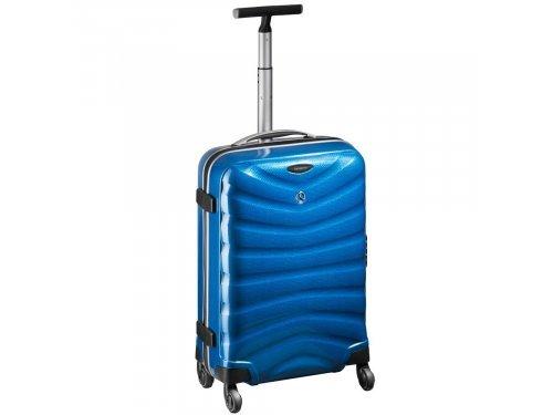 Mercedes Accessories Чемодан Samsonite синего цвета на колесах с выдвижной рукояткой