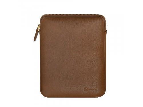 Mercedes Accessories Женский светло-коричневый чехол для iPad из натуральной кожи