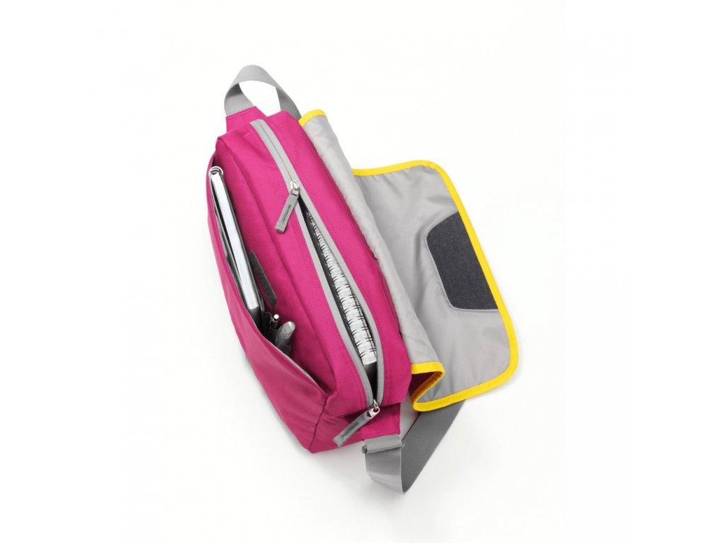 Mercedes Accessories Детская наплечная сумка ярко-розового цвета с эмблемой Mercedes