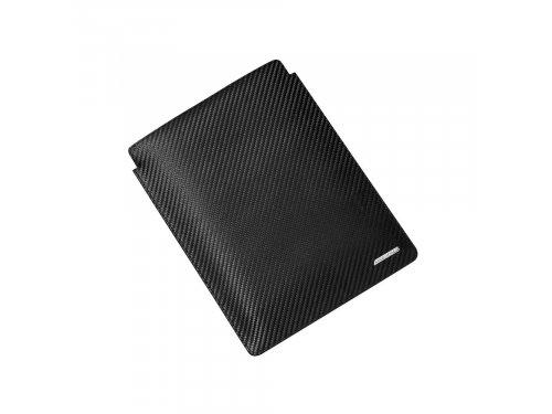 Mercedes Accessories Чехол для iPad черного цвета из натуральной кожи с логотипом AMG