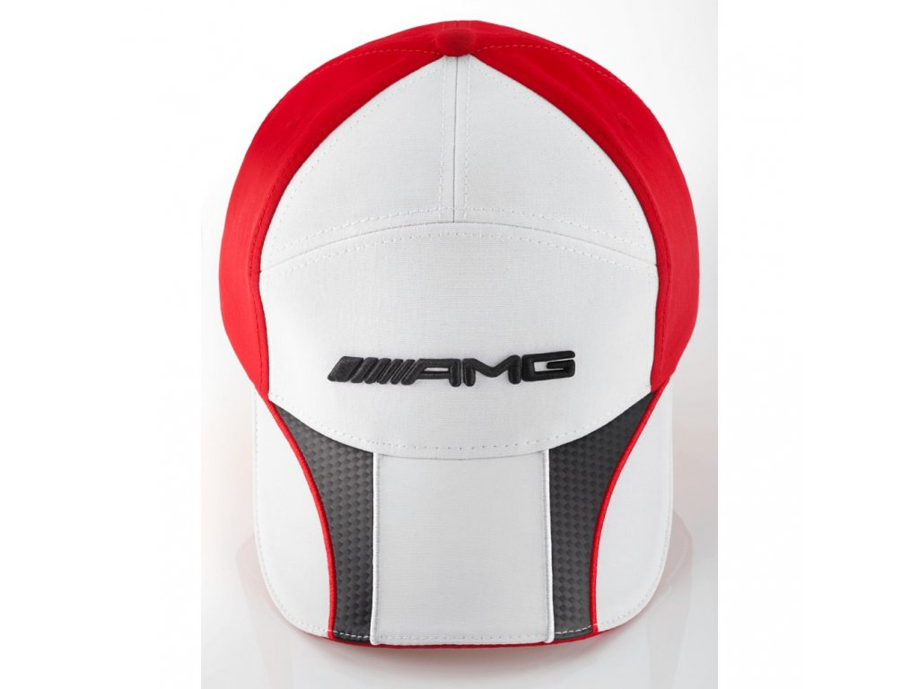 Mercedes Accessories Детская кепка красно-белого цвета с логотипом AMG
