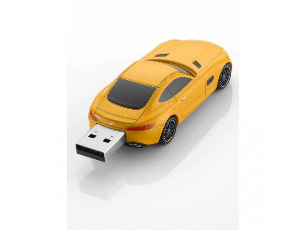 Mercedes Accessories USB-накопитель 16ГБ 2.0 в виде модели автомобиля Mercedes-AMG GT