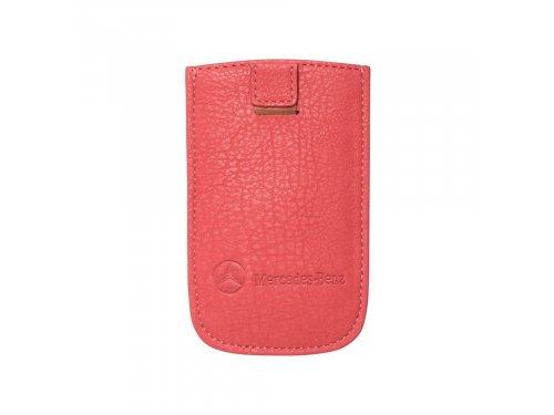 Mercedes Accessories Розовый чехол для iPhone 6 и iPhone 6S из искусственной кожи с логотипом Mercedes-Benz