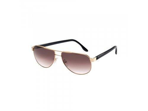 Mercedes Accessories Женские солнцезащитные очки в золотисто-черной оправе со звездой Mercedes-Benz