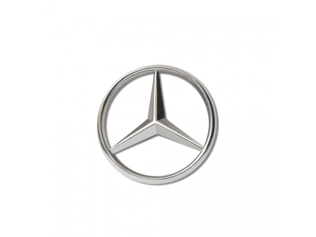 Mercedes Accessories Значок для одежды из нержавеющей стали в форме звезды Mercedes-Benz