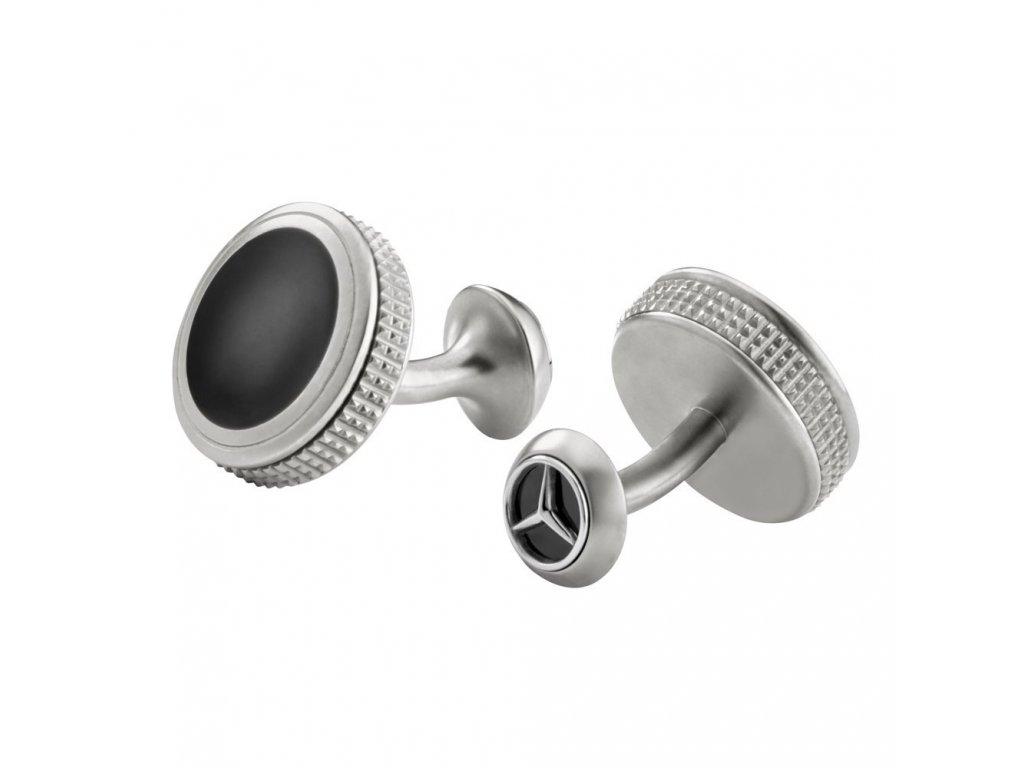 Mercedes Accessories Запонки в форме контроллера из нержавеющей стали со звездой Mercedes-Benz