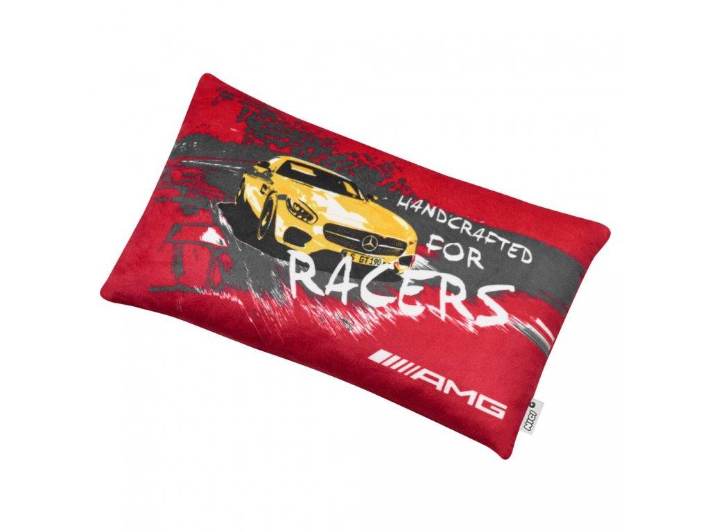 Mercedes Accessories Детская подушка красного цвета с изображением автомобиля Mercedes-AMG GT