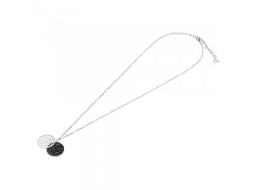 Mercedes Accessories Ожерелье из нержавеющей стали с подвесками и кристаллами Swarovski