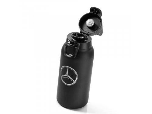 Mercedes Accessories Кружка-термос черного цвета объемом 0,3 л, украшенная звездой Mercedes-Benz