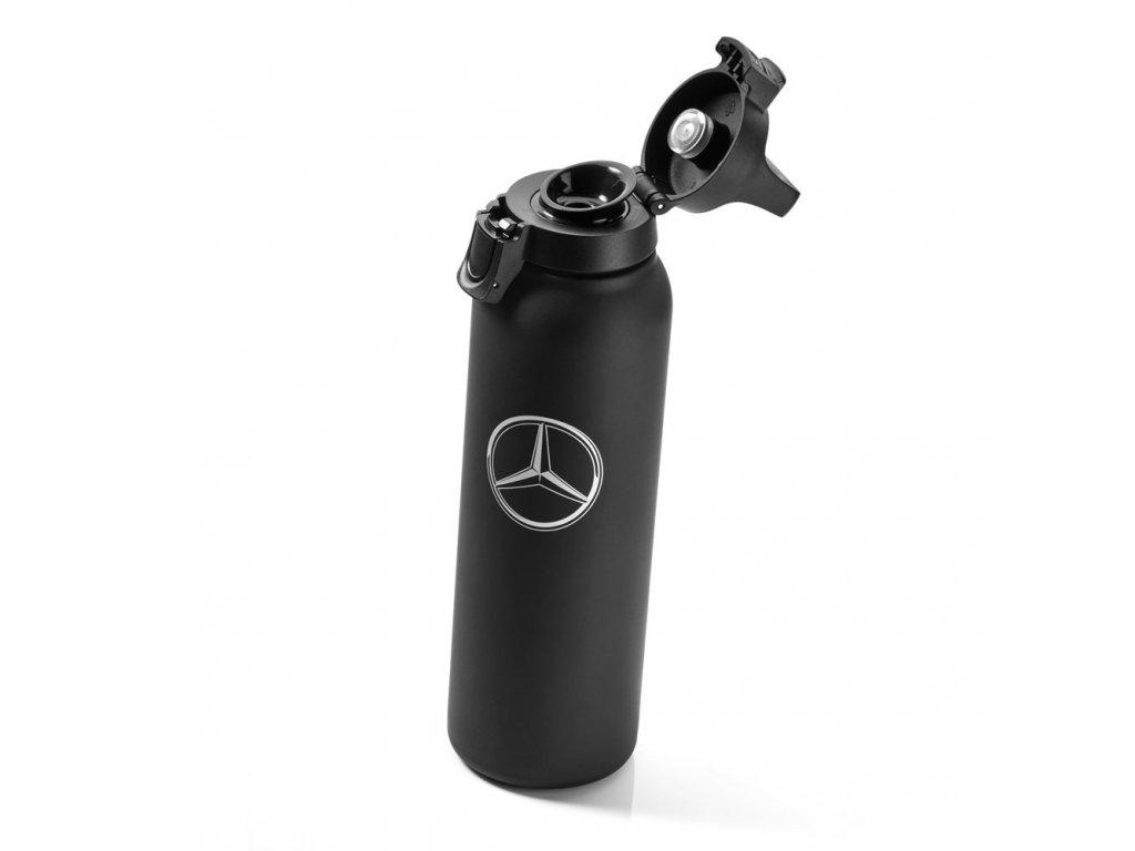 Mercedes Accessories Кружка-термос черного цвета объемом 0,5 л, украшенная звездой Mercedes-Benz