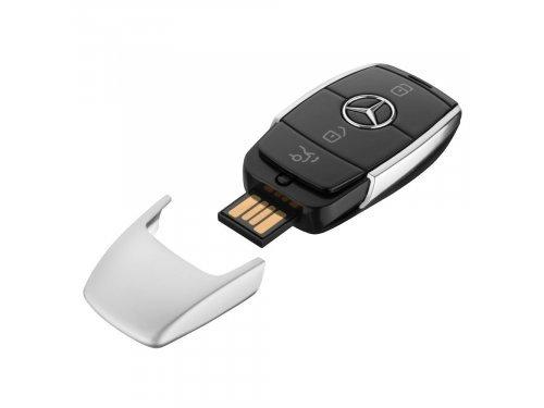 Mercedes Accessories USB-накопитель на 8 Гб в форме нового ключа от автомобиля Mercedes-Benz