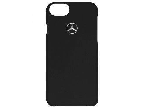 Mercedes Accessories Чехол для телефона iPhone 7 и iPhone 8 из черного пластика со звездой Mercedes