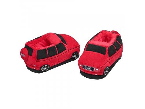 Mercedes Accessories Плюшевые домашние тапочки в форме автомобиля Mercedes G-Класс