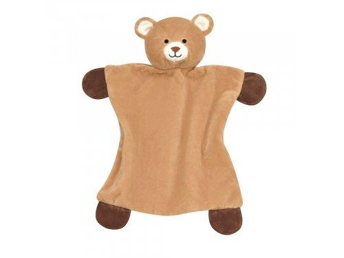 Mercedes Accessories Мягкая игрушка-платок в форме медвежонка бежевого цвета