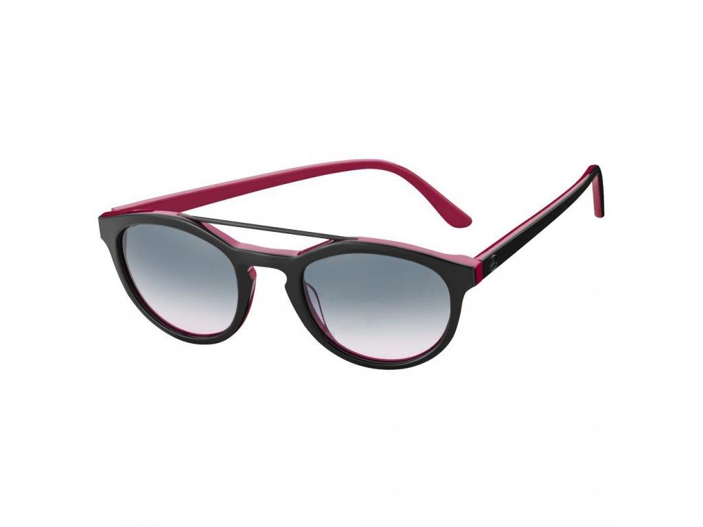 Mercedes Accessories Женские солнцезащитные очки в розово-черной оправе со звездой Mercedes