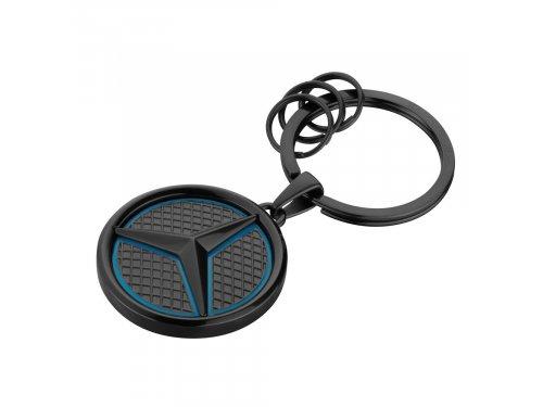 Mercedes Accessories Брелок для ключей из нержавеющей стали черного цвета с логотипом Mercedes-Benz