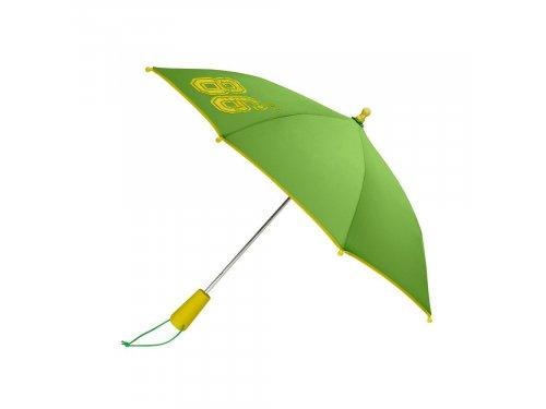 Mercedes Accessories Детский зонт желто-зеленого цвета с принтом Since 86 и серебристой звездой Mercedes