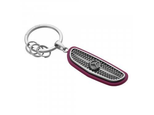Mercedes Accessories Брелок для ключей из нержавеющей стали в форме решетки радиатора автомобиля Mercedes-Benz