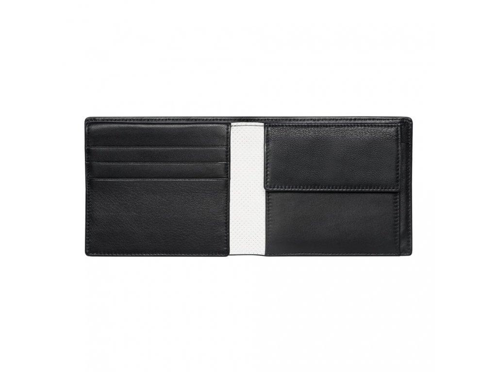 Mercedes Accessories Мужской черный кошелек из натуральной кожи с логотипом Mercedes-Maybach