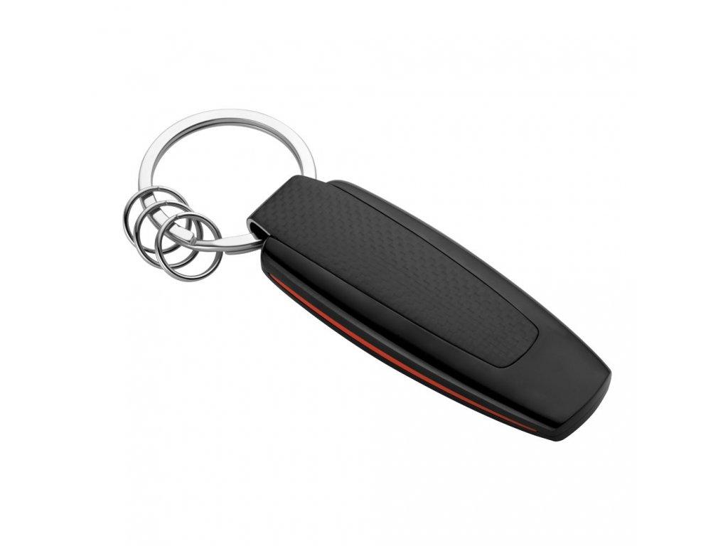 Mercedes Accessories Брелок для ключей в спортивном стиле с серебристым логотипом Mercedes-AMG