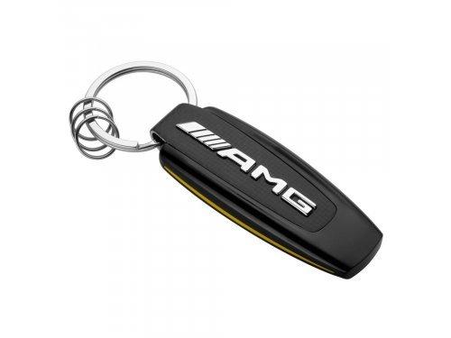 Mercedes Accessories Брелок для ключей в спортивном стиле с серебристым логотипом Mercedes-AMG GT