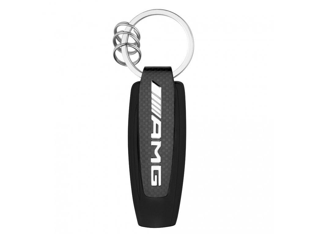 Mercedes Accessories Брелок для ключей в спортивном стиле с серебристым логотипом Mercedes-AMG GT R