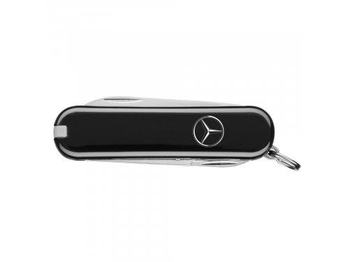 Mercedes Accessories Перочинный нож из нержавеющей стали, украшенный серебристой звездой Mercedes-Benz