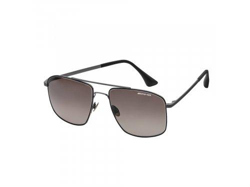 Mercedes Accessories Солнцезащитные очки в титановой оправе черного цвета с логотипом Mercedes-AMG