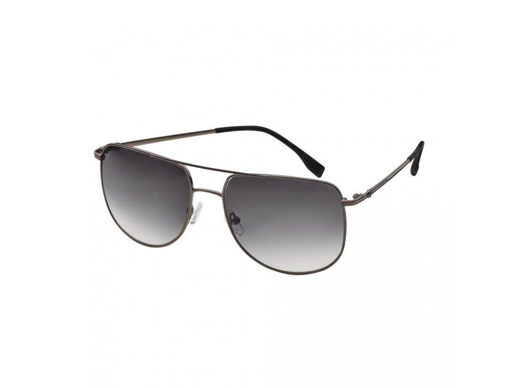 Mercedes Accessories Мужские солнцезащитные очки с черной стальной оправой в деловом стиле