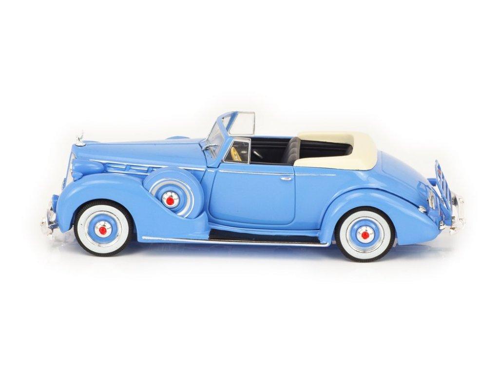 1:43 IXO Packard Convertible Victoria 1938 голубой
