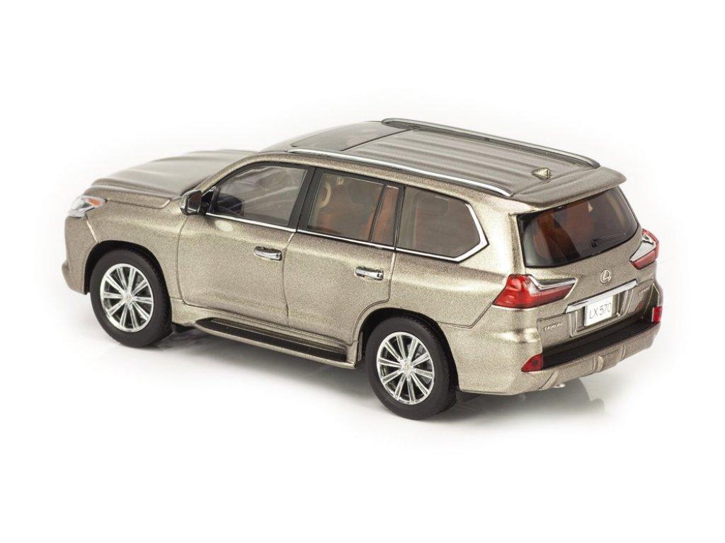 1:43 Kyosho Lexus LX570 титановый