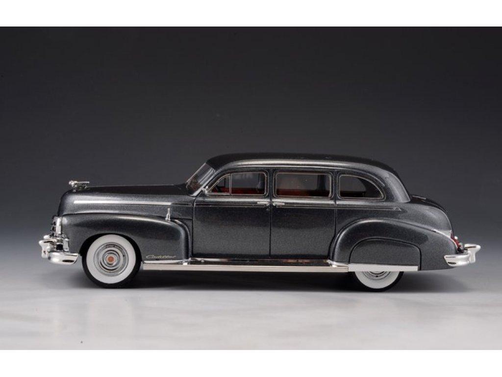 1:43 GLM Cadillac Series 75 Fleetwood Limousine 1947 серый металлик