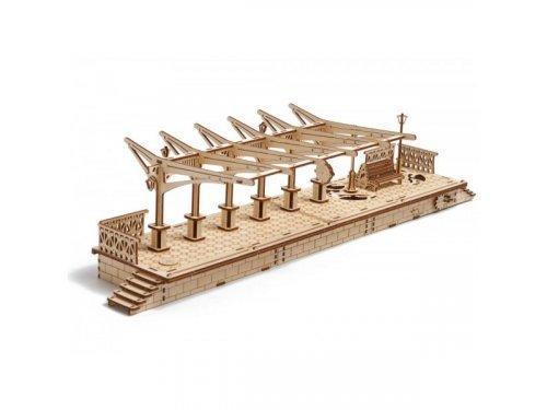 UGears Деревянный перрон для механического локомотива