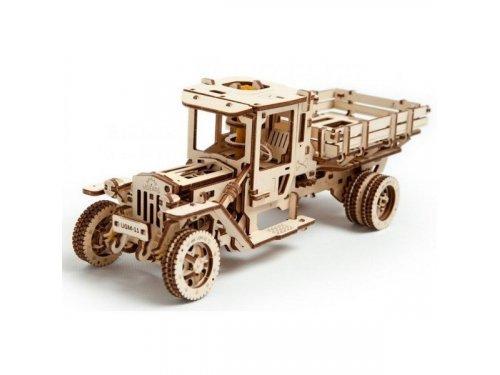 UGears Механическая деревянная модель грузовика UGM-11