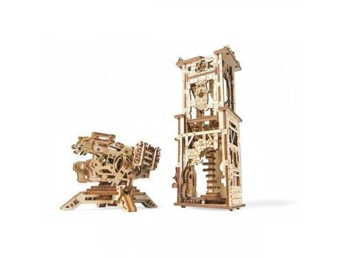 UGears Игровой набор: башня и механическая осадная машина