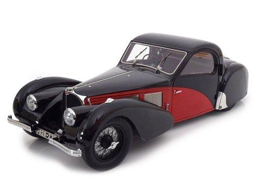 1:12 Bauer Bugatti Type 57SC Atalante 1937 красный с черным