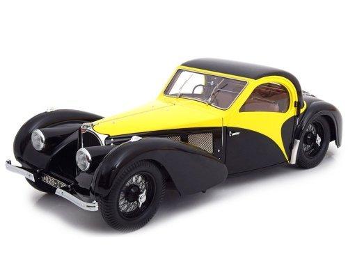 1:12 Bauer Bugatti Type 57SC Atalante 1937 желтый