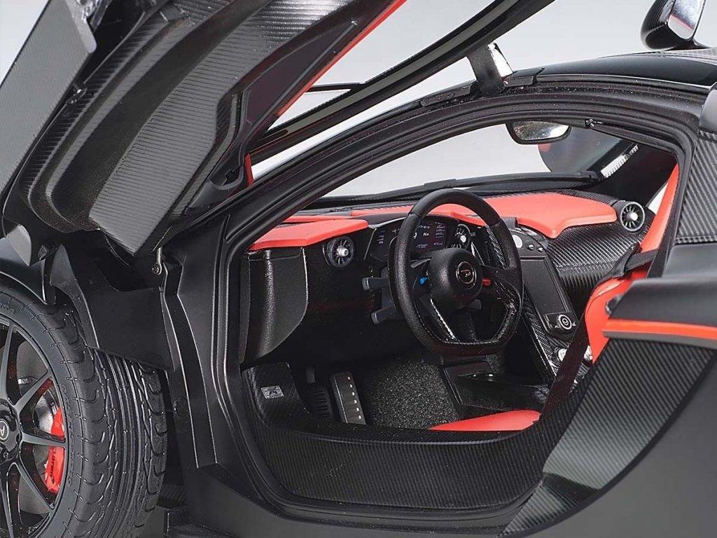1:12 AUTOart McLaren P1 2013 матовый черный с красным
