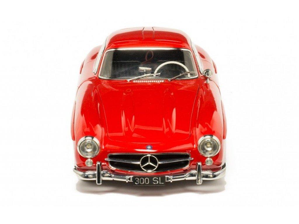 1:8 PremiumX Mercedes-Benz 300SL Gullwing 1954 W198 красный