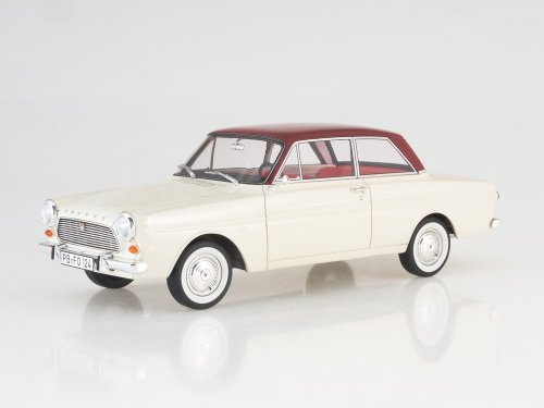 1:18 Best of Show Ford Taunus 12M (P4) Limousine белый с черным