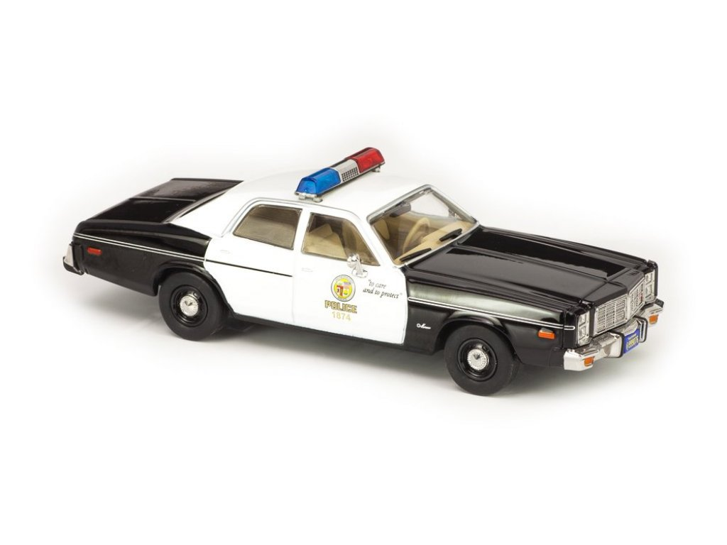 1:43 GreenLight Dodge Monaco Metropolitan Police 1977 (из к/ф Терминатор)
