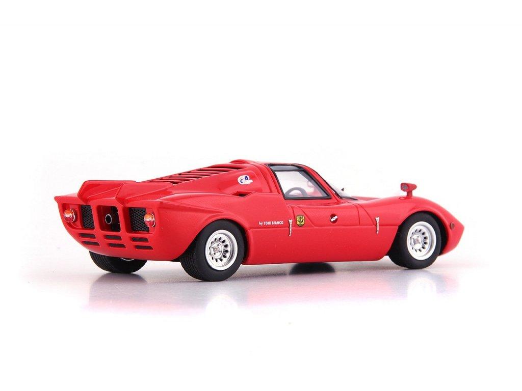 1:43 AutoCult Alfa Romeo FNM Furia GT 1971 красный (Бразилия)