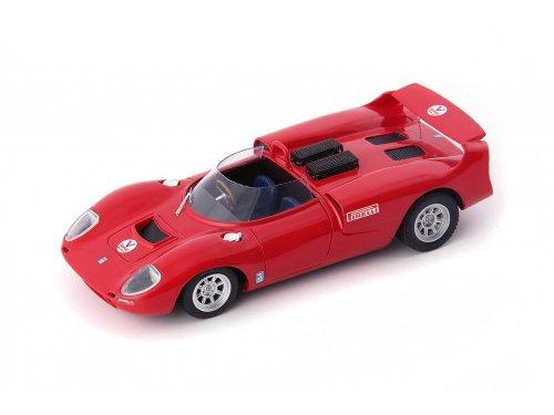 1:43 AutoCult De Tomaso Sport 5000 1966 красный
