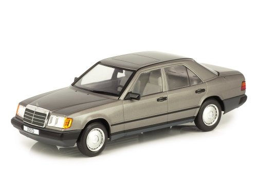 1:18 IXO Mercedes-Benz 300D 1984 W124 серый (антрацит)