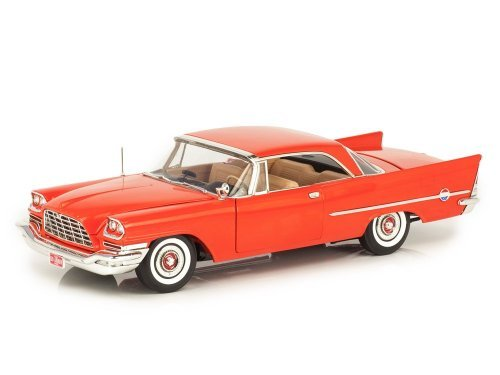 1:18 Auto World Chrysler 300C Hardtop (60th Anniversary) 1957 красный