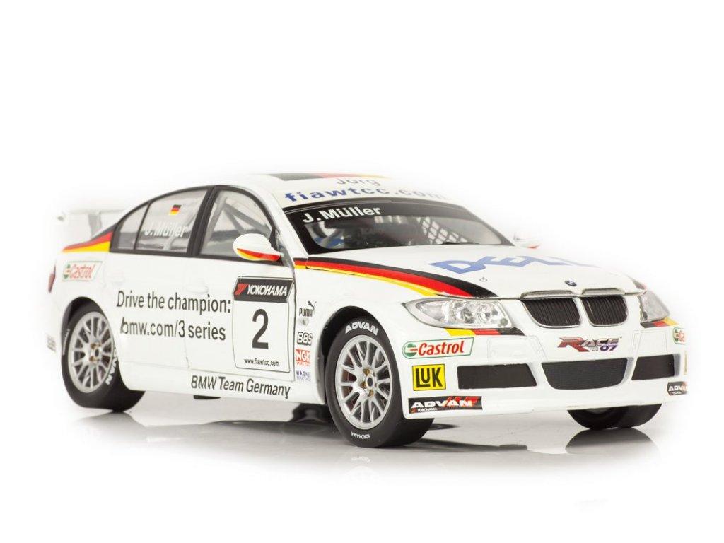 1:18 Guiloy BMW 320Si (E90) WTCC 2006 Jorg Muller #2