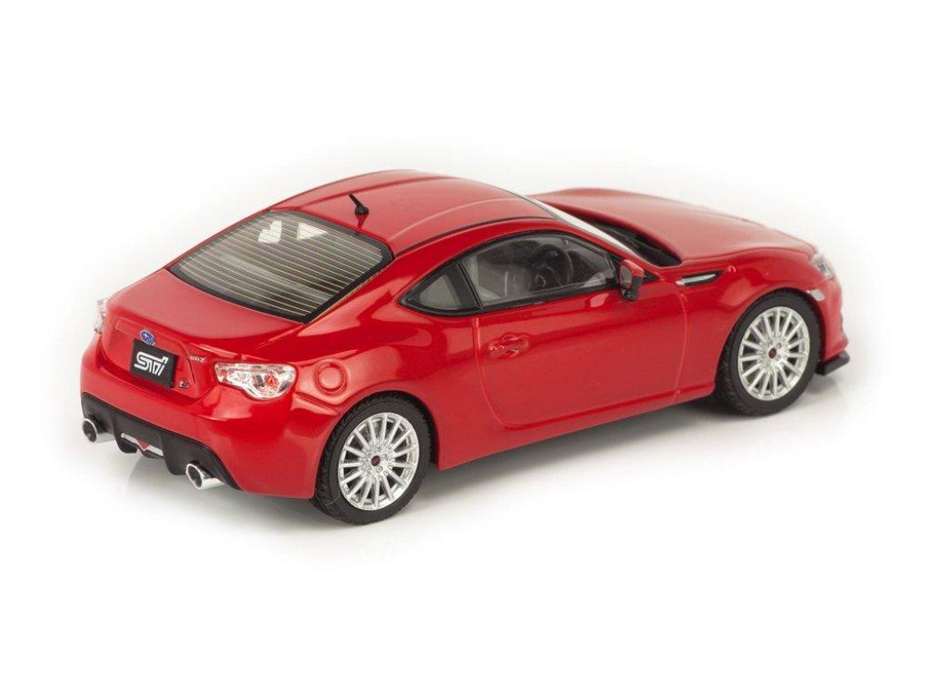 1:43 J-Collection Subaru BRZ STi TS 2013 красный