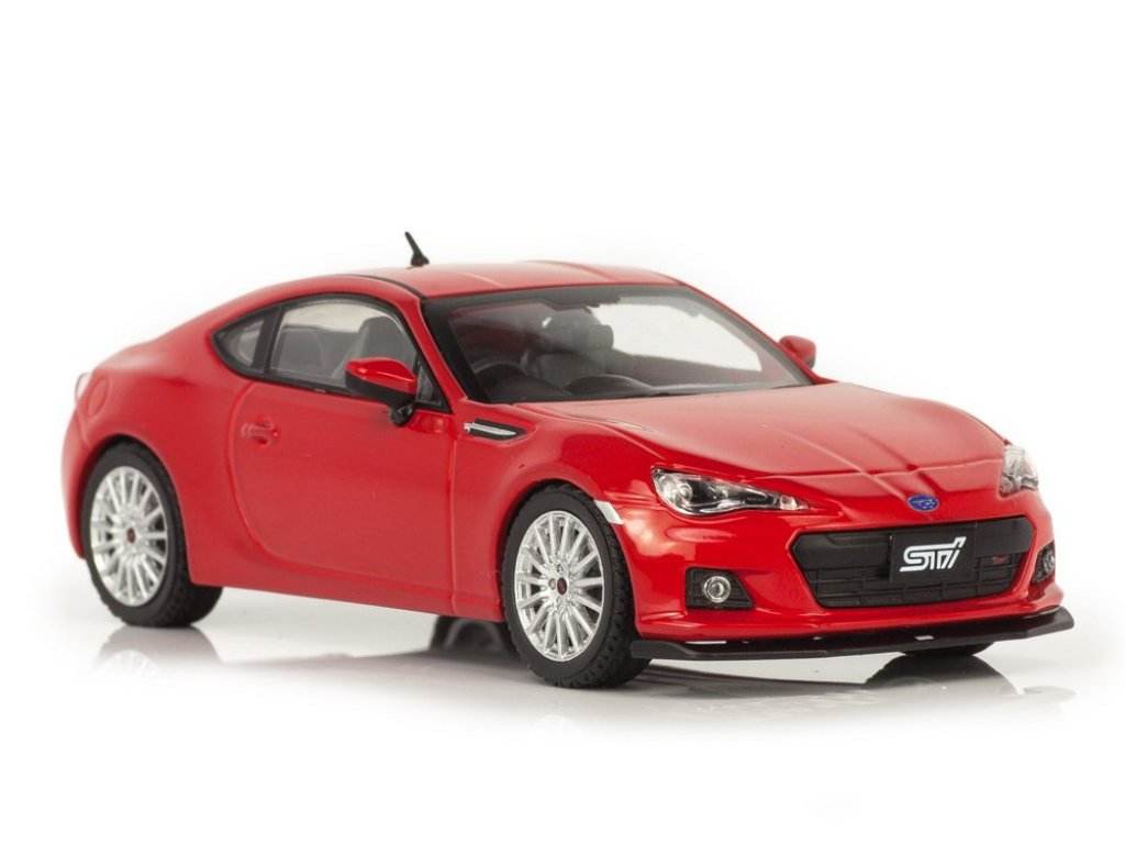 1:43 J-Collection Subaru BRZ STi TS 2013 красный