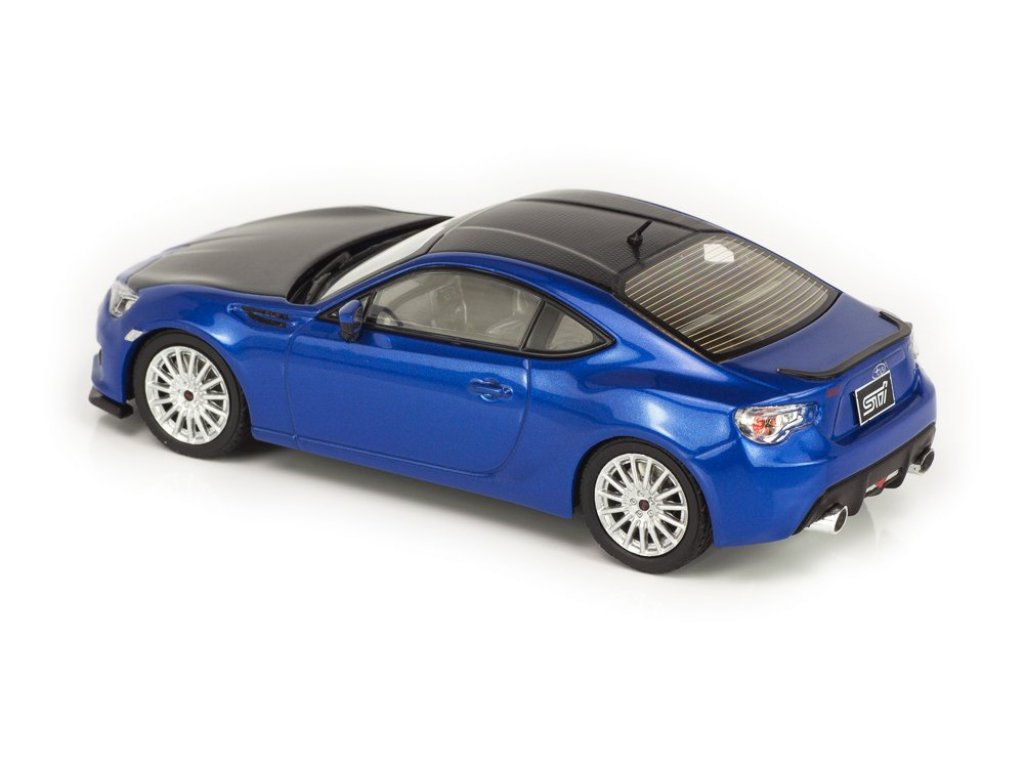1:43 J-Collection Subaru BRZ STi Tokyo A/S 2013 синий