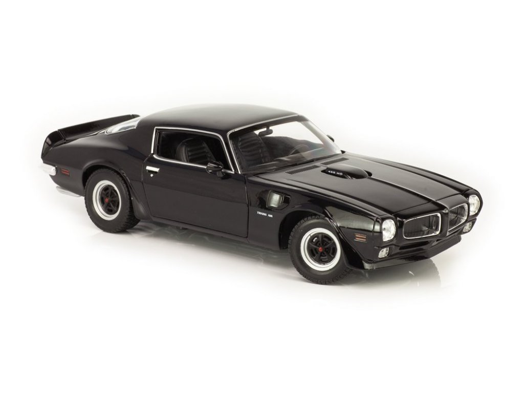 1:18 Welly Pontiac Firebird Trans Am 1972 черный